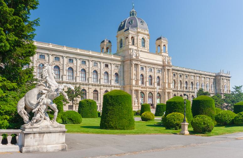 Vienna City Hall at Christmas time