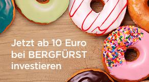 Neu bei BERGFÜRST: Ab 10 Euro investieren!