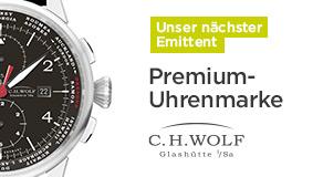 Unsere neue Investment-Möglichkeit: Die junge Premium-Uhrenmarke C.H.WOLF