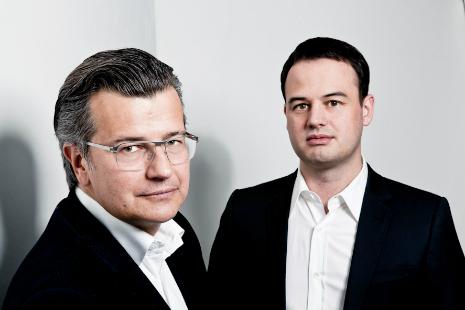 Die BERGFÜRST Gründer Dr. Guido Sandler und Dennis Bemmann