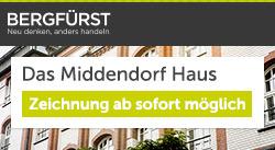 Emissionsstart: Ab heute können Sie Beteiligungen am Middendorf Haus zeichnen!