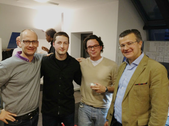 David Marx und Hannes Rütz (The Science Kitchen), Alexander Katz und Guido Sandler (BERGFÜRST)