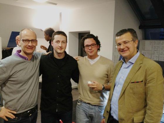 David Marx und Hannes Rütz (The Science Kitchen), Alexander Katz und Guido Sandler (BERGFÜRST)