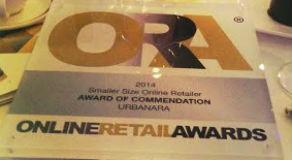 URBANARA wird bei den Online Retail Awards ausgezeichnet