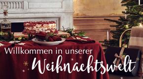 Die URBANARA Weihnachtswelt ist eröffnet