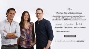 Urbanara ist jetzt schon Deutschlands größtes Crowdinvesting: Zeichnungsphase wird bis 1. November 2013 verlängert