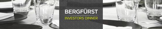 BERFUERST Investors Dinner