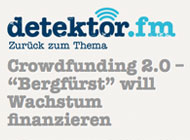 Crowdinvesting im Radio