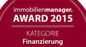 BERGFÜRST ist für den immobilienmanager. Award 2015 nominiert