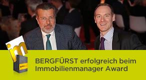 BERGFÜRST erfolgreich beim Immobilienmanager Award