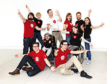 Das Team der Sozialhelden