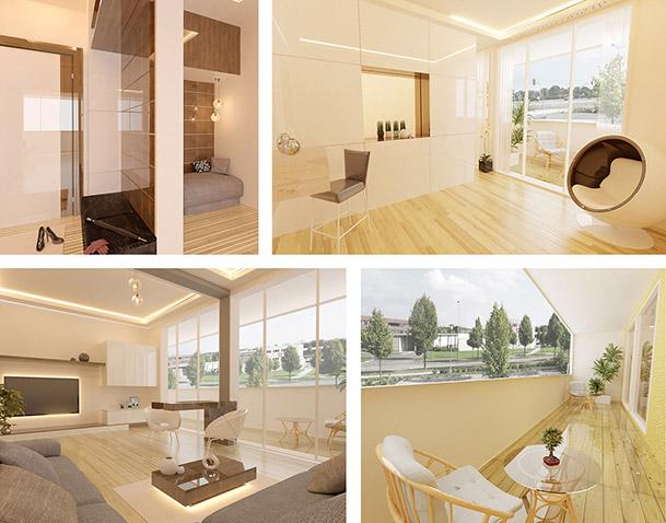 Appartements des Projekts Nordkap Erfurt