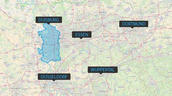 Makrolage Duisburg