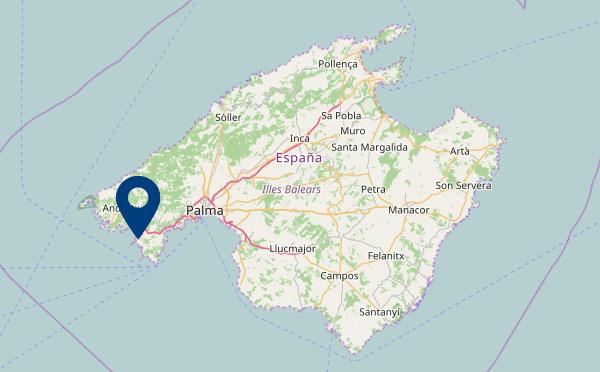 Die Lage auf Mallorca