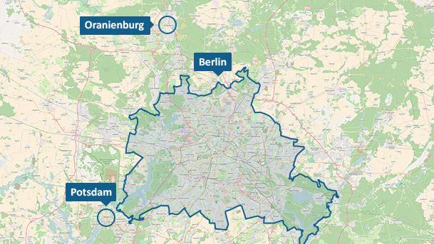 Berlin und Oranienburg