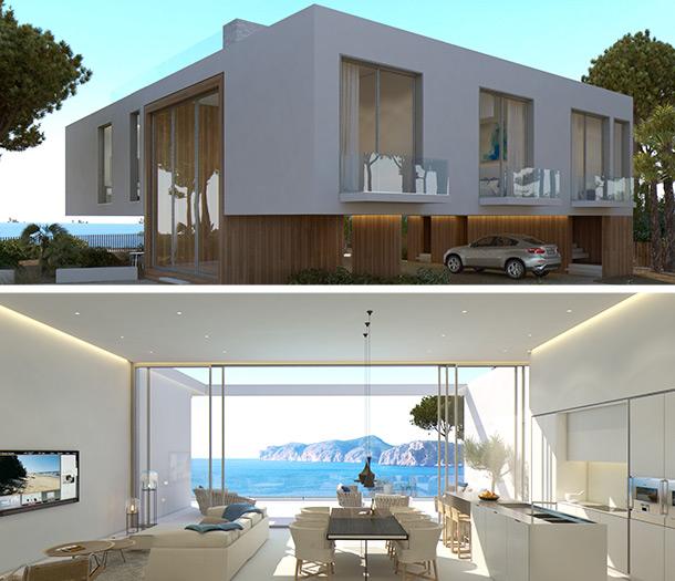 Das geplante Objekt in Santa Ponsa